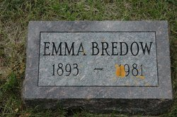 Emma Auguste Charlotte <I>Wirgau</I> Bredow