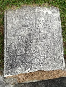 Elizabeth <I>Woodruff</I> Allen