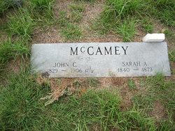 Sarah A. <I>Martin</I> McCamey