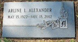Arline Lois <I>Schmidt</I> Alexander