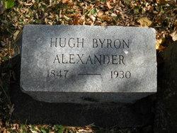 Hugh Byron Alexander