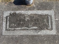 Daisy Belle Catherine <I>Brown</I> Ackley