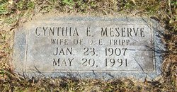 Cynthia E. <I>Meserve</I> Tripp
