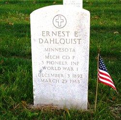 Ernest Emil Dahlquist