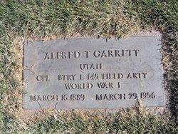 """Alfred Thomas """"Fred"""" Garrett"""