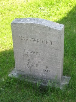 Bessie Pearl <I>Wiley</I> Cartwright