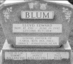 Janice <I>Blum</I> Ballantyne