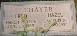 Hazel Janet <I>Thayer</I> Fish