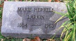 Marie V <I>Herrell</I> Larkin