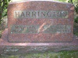 Marian Emma <I>Young</I> Harrington