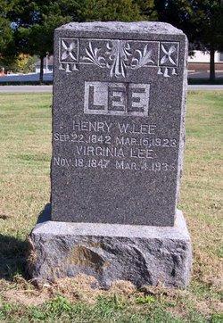 Virginia Ann <I>Grangeen</I> Lee