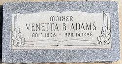 Venetta <I>Boulter</I> Adams