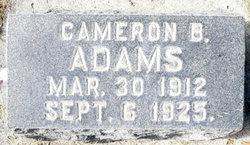 Cameron Benjamin Adams
