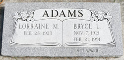 Bryce Lawayne Adams