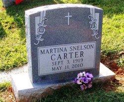 Martina <I>Snelson</I> Carter