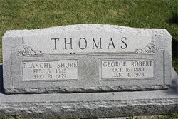 Blanche <I>Shore</I> Thomas