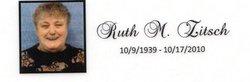 Ruth Mae <I>Hamm</I> Faust  Zitsch