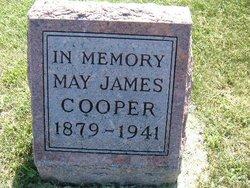 May <I>James</I> Cooper