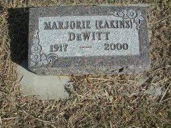 Marjorie <I>Eakins</I> DeWitt