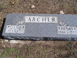 Jennie <I>Cooper</I> Archer