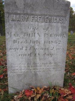 Mary <I>Fredericks</I> Cook