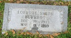Lorette <I>Smith</I> Burkett