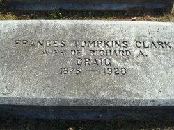Frances Tomkins <I>Clark</I> Craig