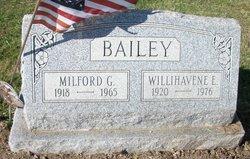 Milford G Bailey