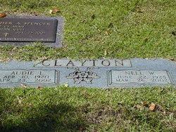 Nell <I>Webb</I> Clayton