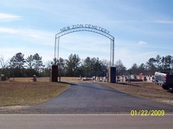 New Zion Baptist Church Cemetery (New Section)