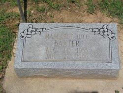 Margaret Ruth <I>Hawthorne</I> Baxter