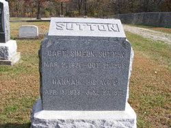 Cpt Simeon Harvey Sutton
