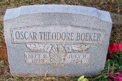 Oscar Theodore Boeker