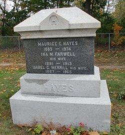 Ina May <I>Farwell</I> Hayes