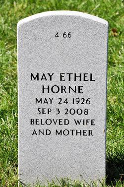 May Ethel Horne