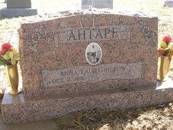 Anna Laura <I>Big Bow</I> Ahtape