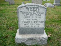 Tirzah E. <I>Pierce</I> Weer