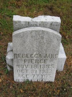 Rebecca Jane Pierce