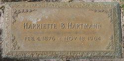 Harriette B. Hartmann