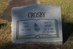Hattie <I>Moody</I> Crosby