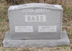 Bertha Naomi <I>Sands</I> Bass
