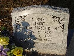 """Letha Frieda """"Tiny"""" <I>Johnson</I> Green"""