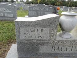 Mamie Odell <I>Riddick</I> Baccus