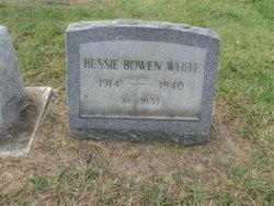 Bessie <I>Bowen</I> White