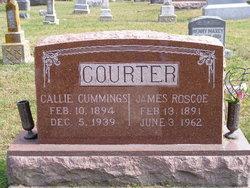 Callie <I>Cummings</I> Courter