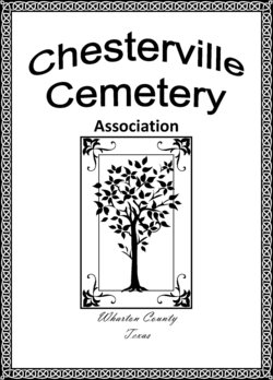 Chesterville Cemetery Association