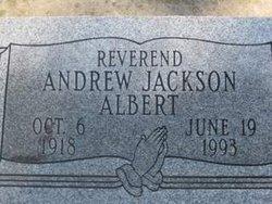 Rev Andrew Jackson Albert
