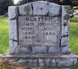 Charlotte Jane <I>Hughes</I> Clayton