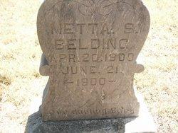 Metta S Belding