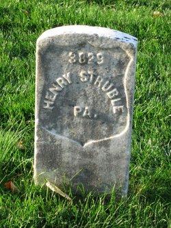 Pvt Henry Struble